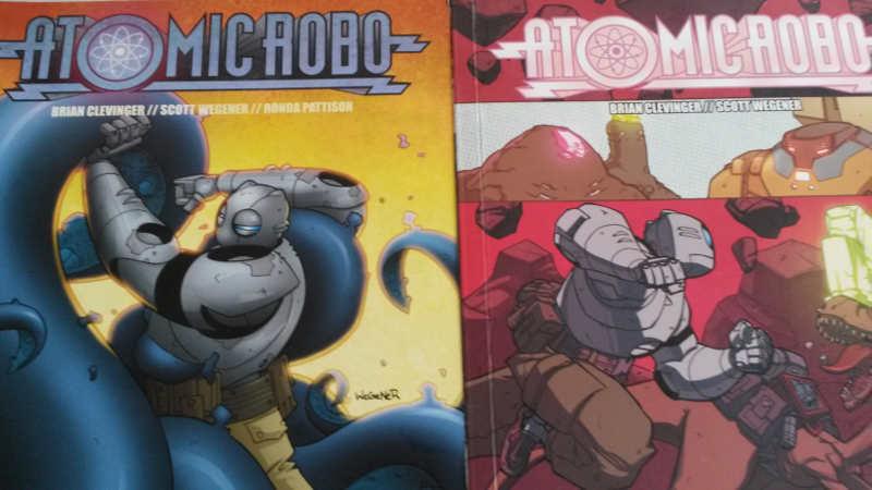 Atomic Robo comic