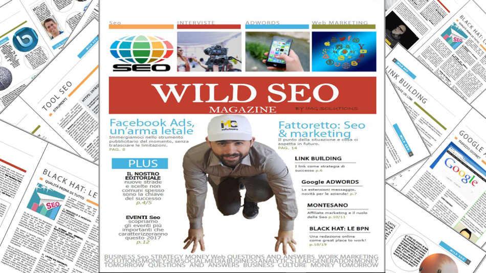 Rivista SEO gratuita - Wild SEO Magazine