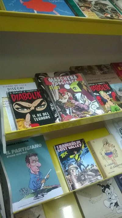 Maschera Fuggiasca alla Biblioteca delle Nuvole