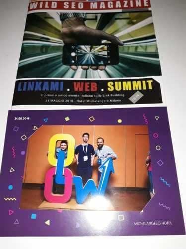 Linkami Web Summit - incontro sulla link building