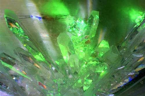 La kryptonite, minerale impiegato per indebolire Superman