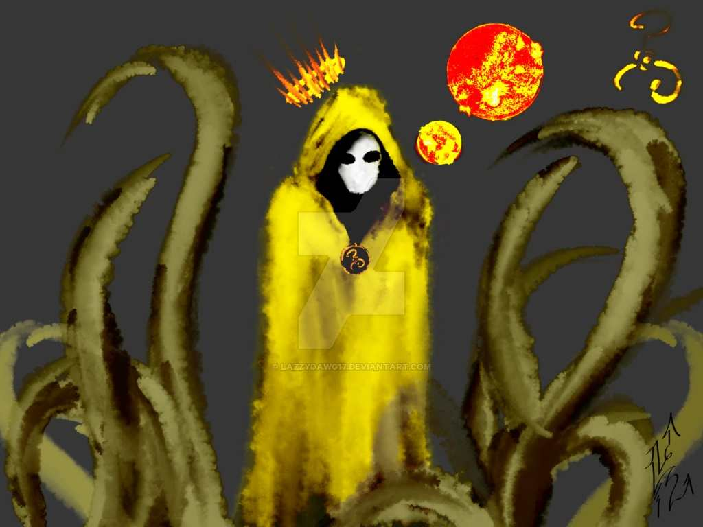 Hastur Carcosa e il Re in giallo