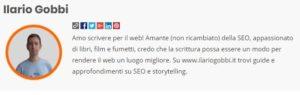 Profilo di Ilario Gobbi su SeoRoma