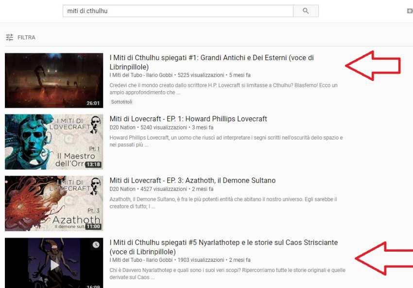 Miti del Tubo canale Youtube Ilario Gobbi