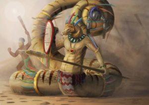 Yig, Set e gli Uomini Serpente