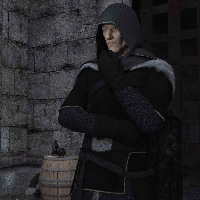 Exham Priory e i ratti nei muri