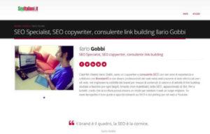 SEO Italiani Ilario Gobbi