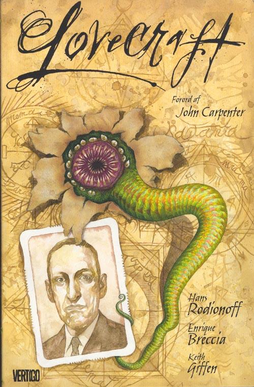 Lovecraft di Rodionoff e Breccia, fumetto e film