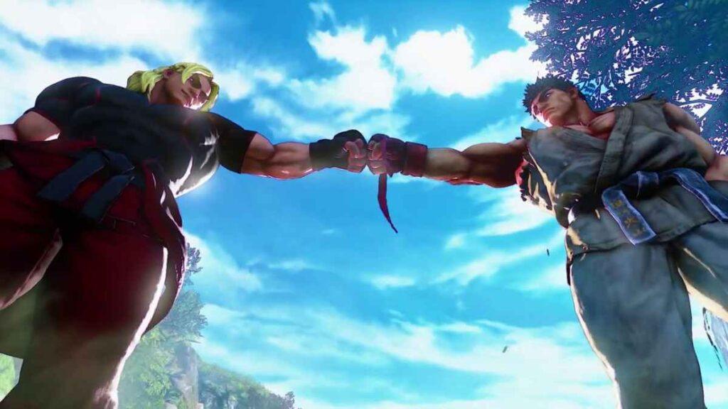 Ryu vs Ken - Street Fighter