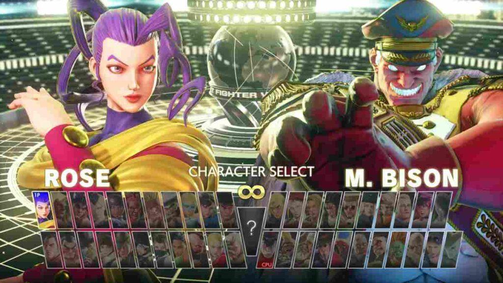 Storia M.Bison e Rose di Street Fighter