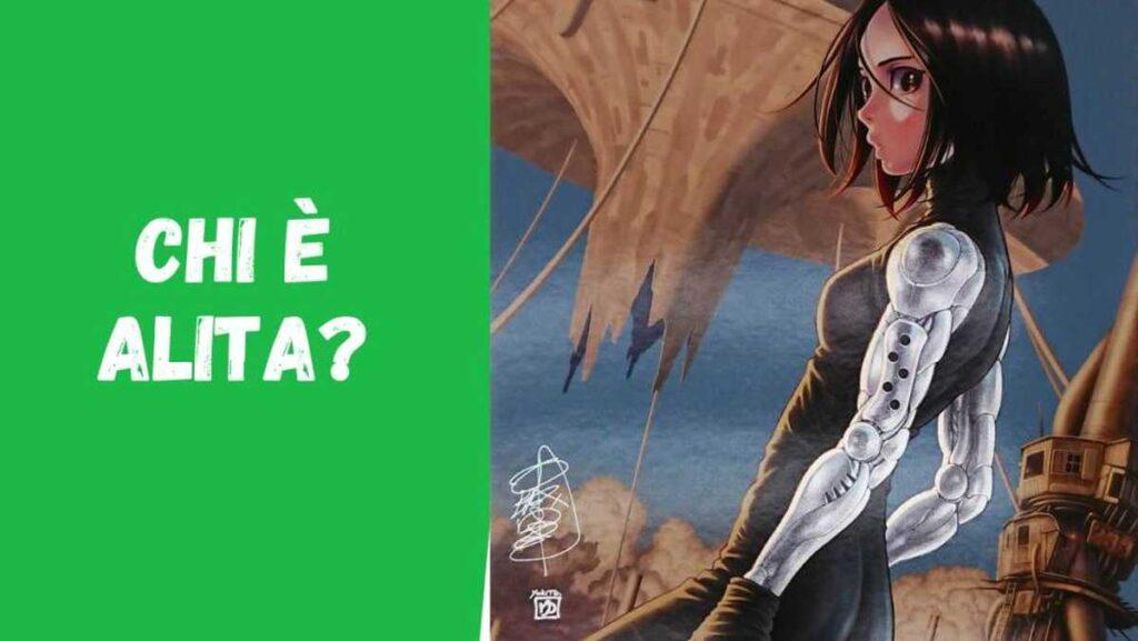 Alita - Trama manga