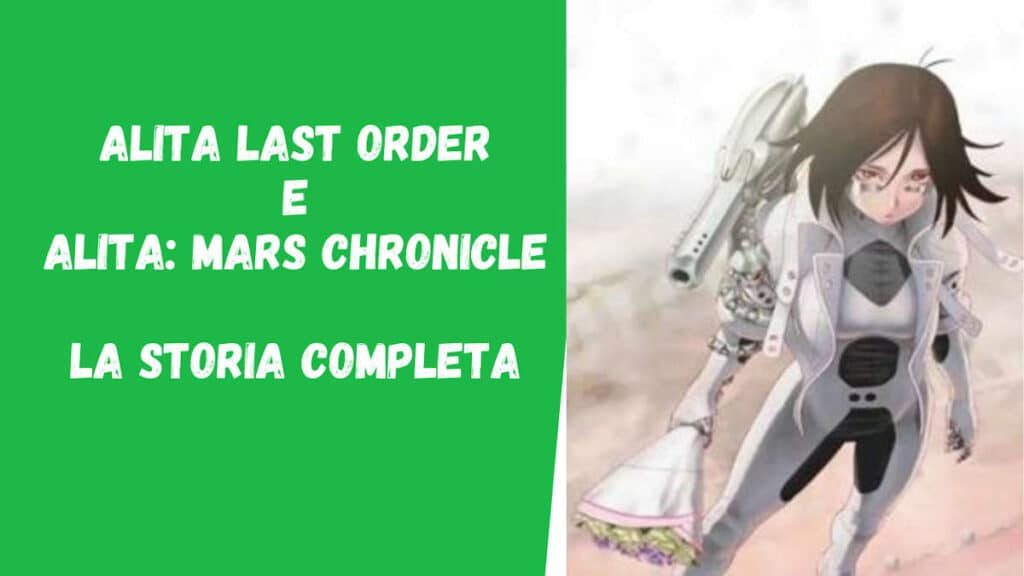 Alita Last Order - Trama
